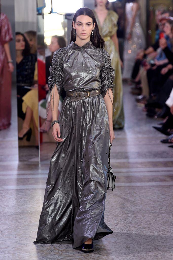 Платья из коллекции Bottega veneta