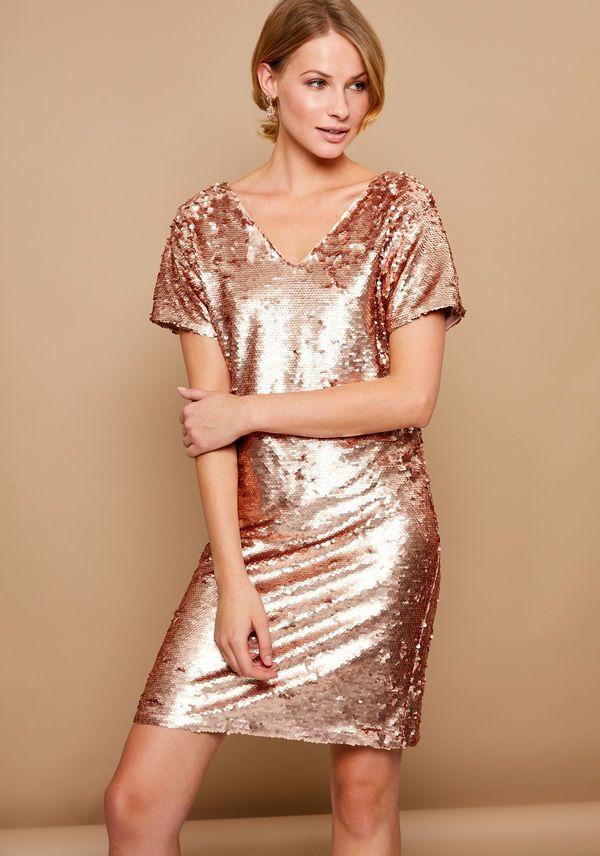 Zarina: платье с паетками