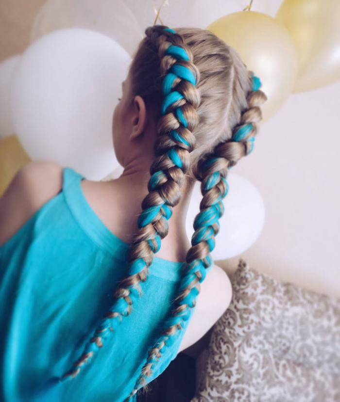 Hairstyle for the New Year 2018
