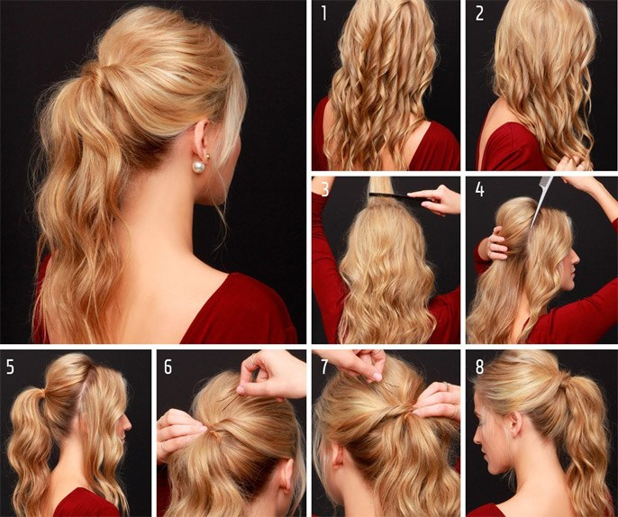 Hairstyle for New Year