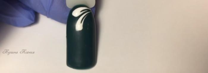 Вензеля на ногтях. Пошаговый фото-урок № 2