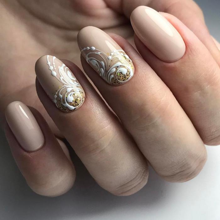 Вензеля на ногтях: фото пошагово для начинающих