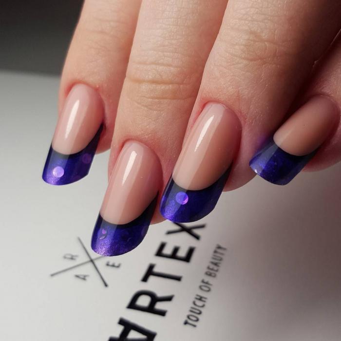 Дизайн формы ногтей пайп, фото