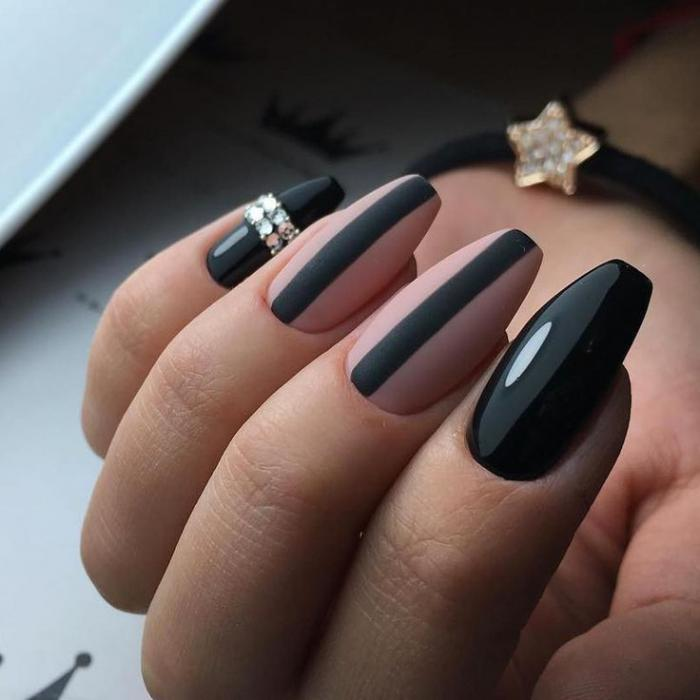 Форма ногтей балерина: фото с дизайном