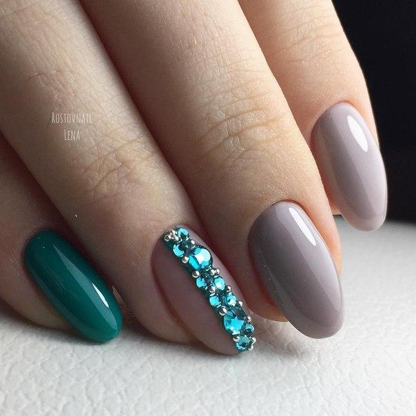 Овальная форма ногтей: фото с дизайном