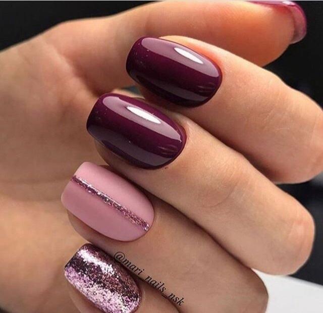 Маникюр на квадратную форму ногтей: фото с дизайном