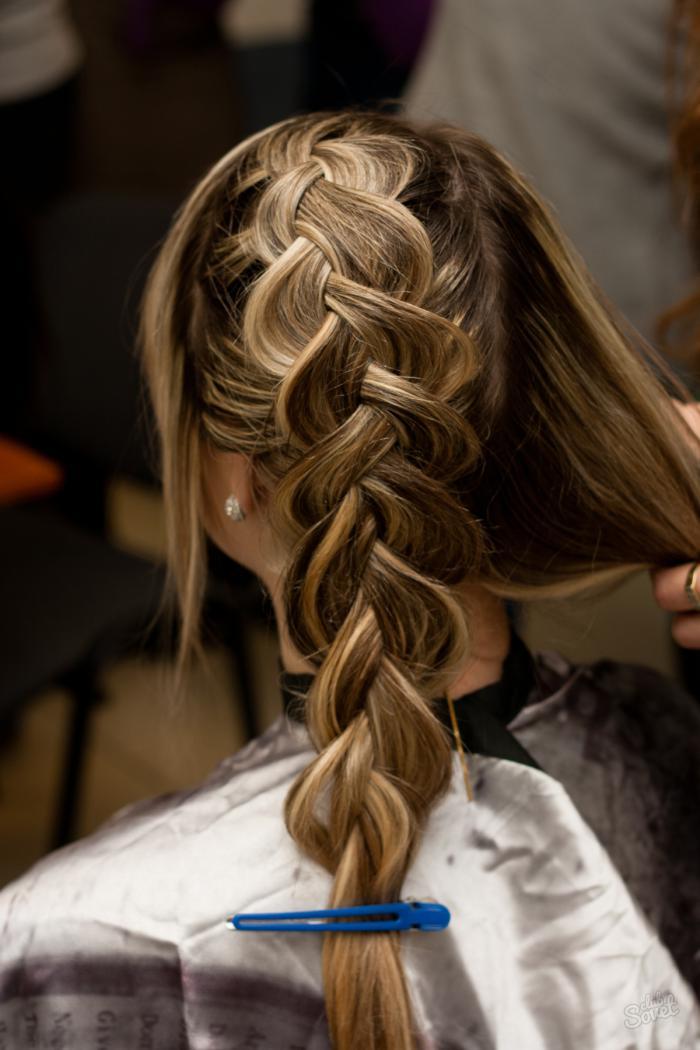 Французская коса: как плести прически самой? (фото)