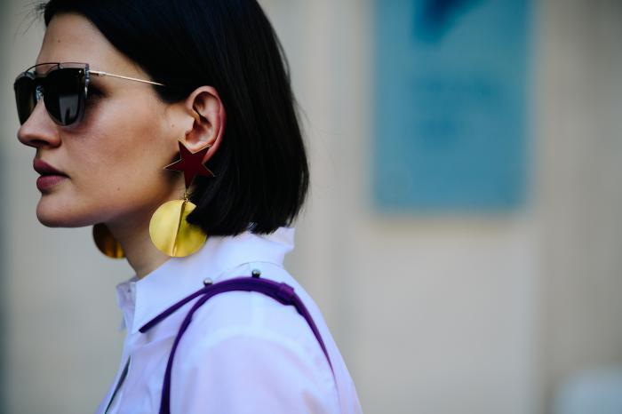 Модное удлиненное каре 2018
