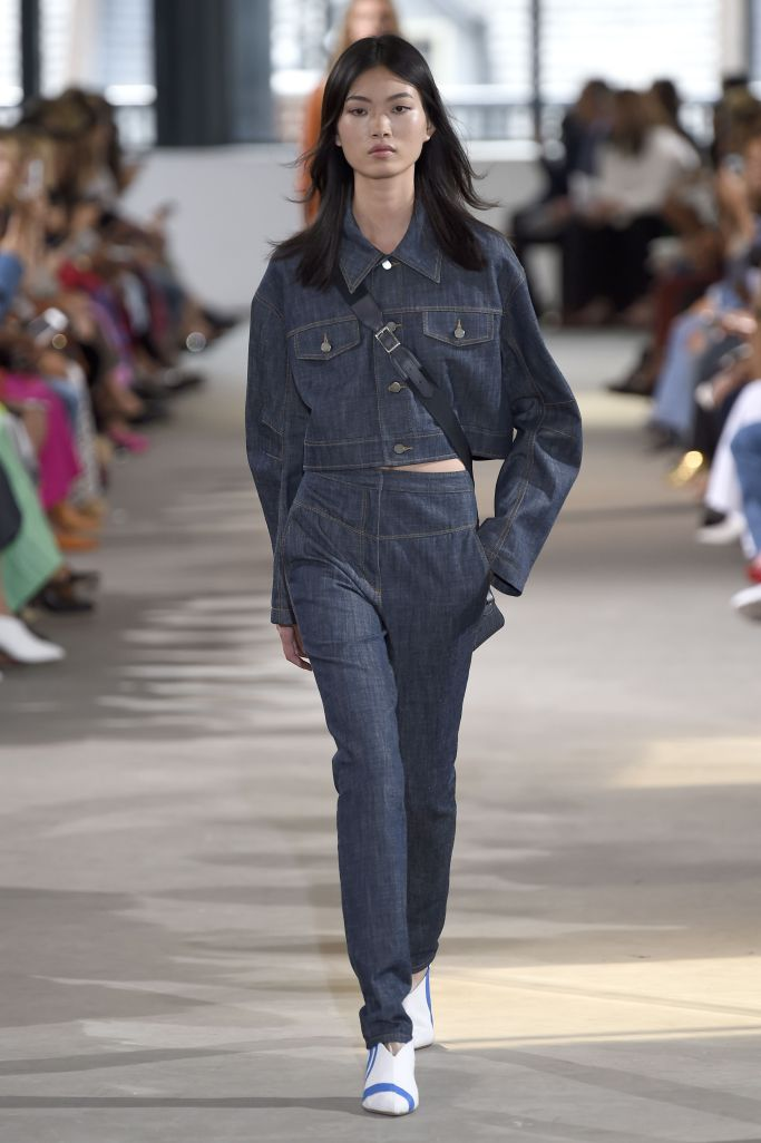 Модные джинсы Tibi 2018