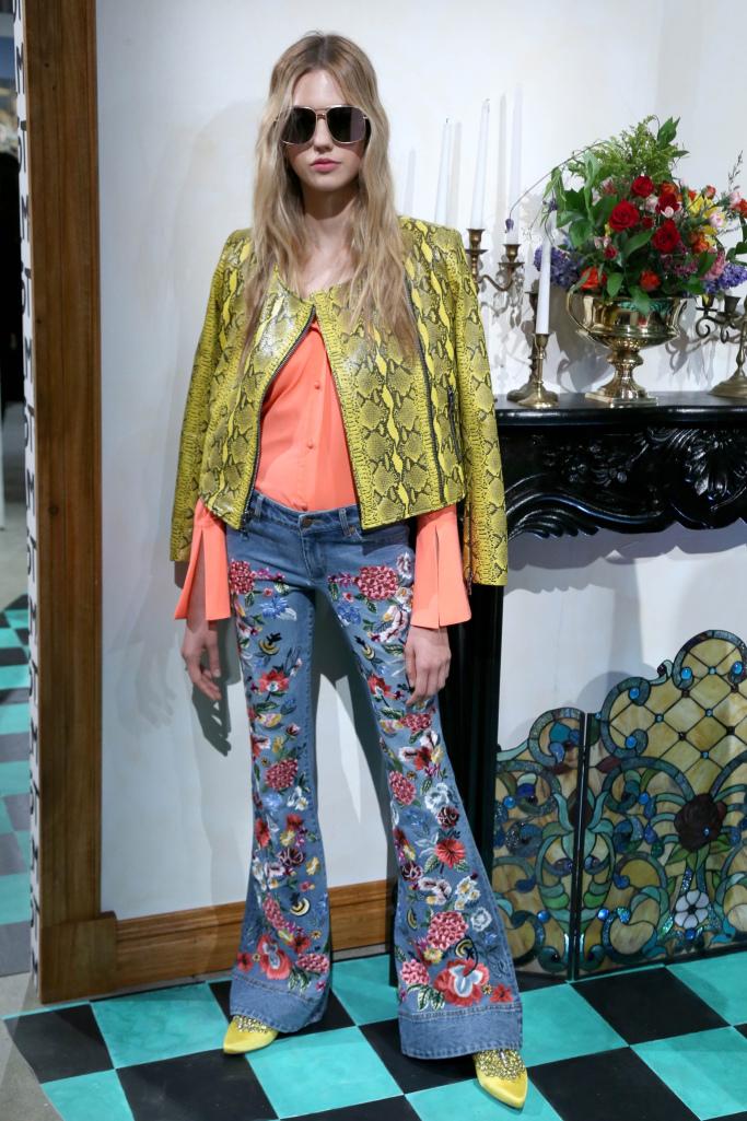 Модные джинсы 2018 Alice   Olivia