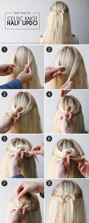 Прическа на распущенные волосы сделать самой