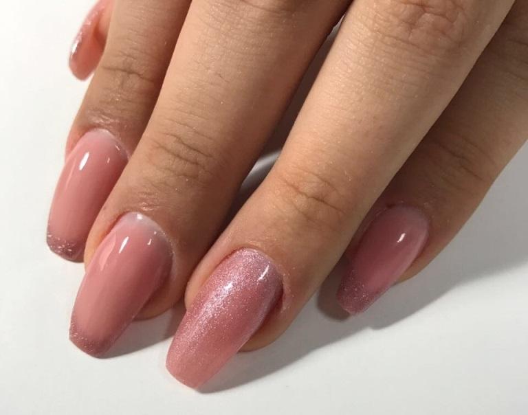 Фото ногтей укрепленных гель-лаком