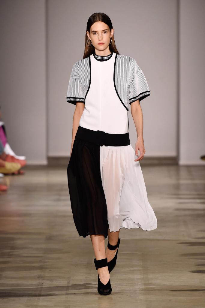 Модные модели юбок миди