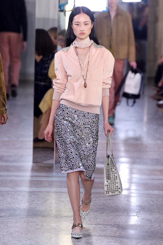 Модные юбки с паетками