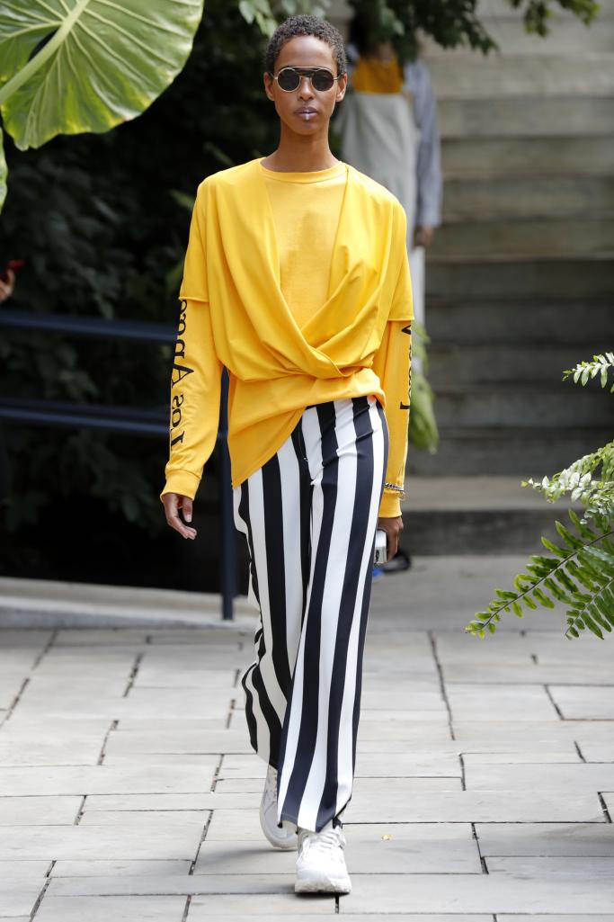 Модные полосатые брюки Assembly