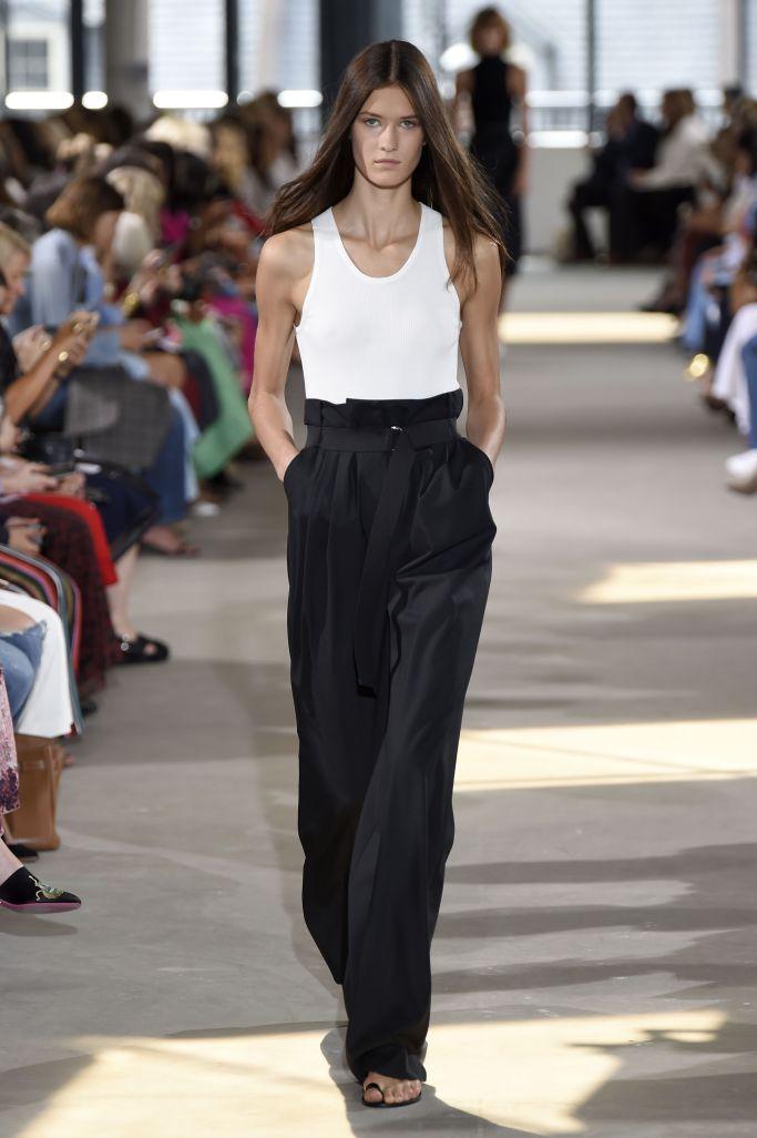 Модные брюки с завышенной талией Tibi