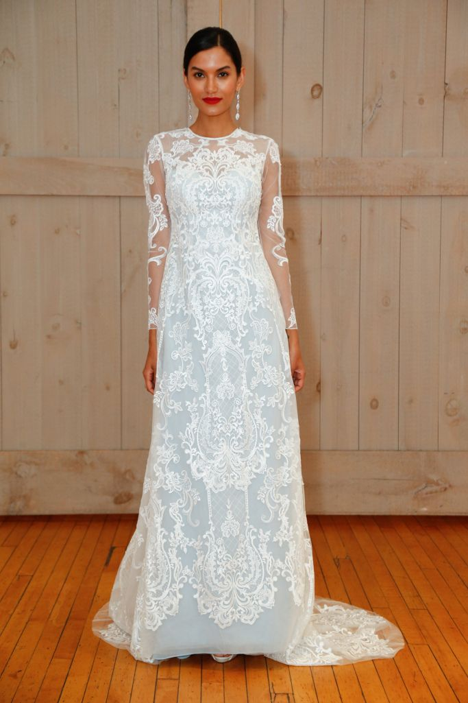 Фото шикарных свадебных нарядов от модных кутюрье