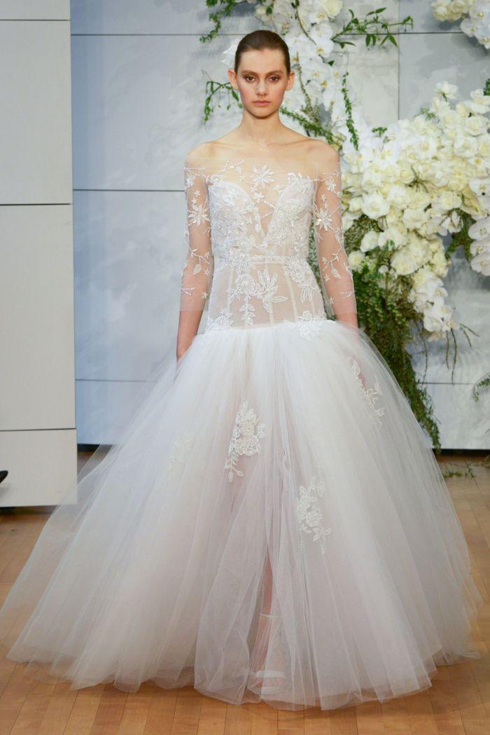 Фото модных свадебных платьев с рукавами