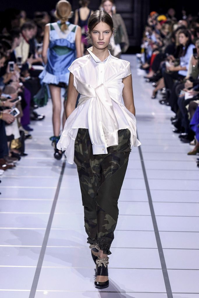 Летние брюки с манжетами