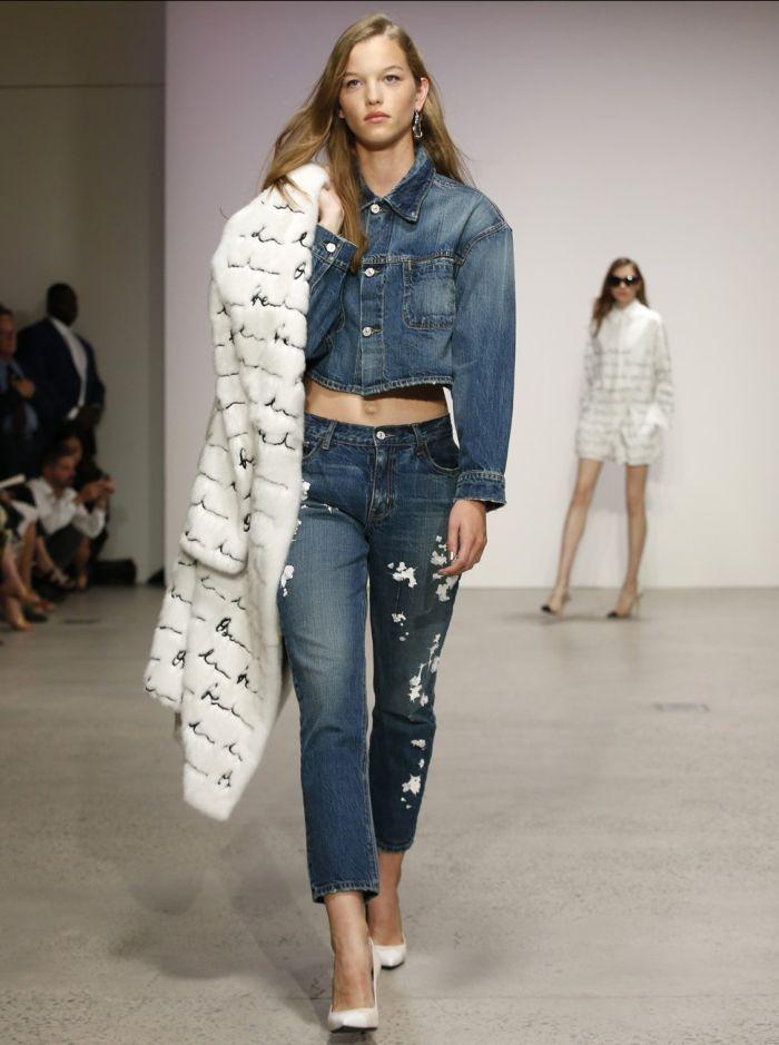 Летние джинсовые куртки