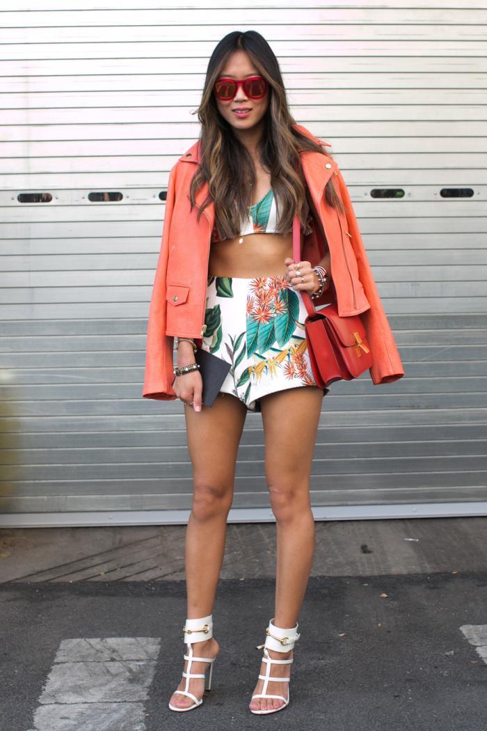 Летние шорты – 10 модных образов на лето 2018