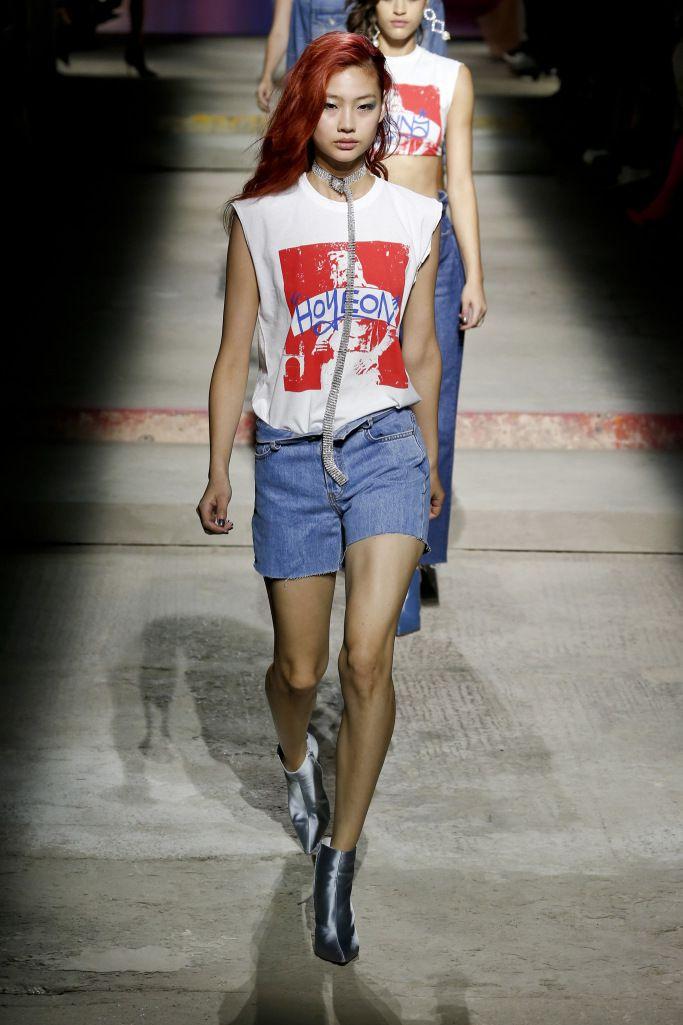 Модные летние джинсовые шорты