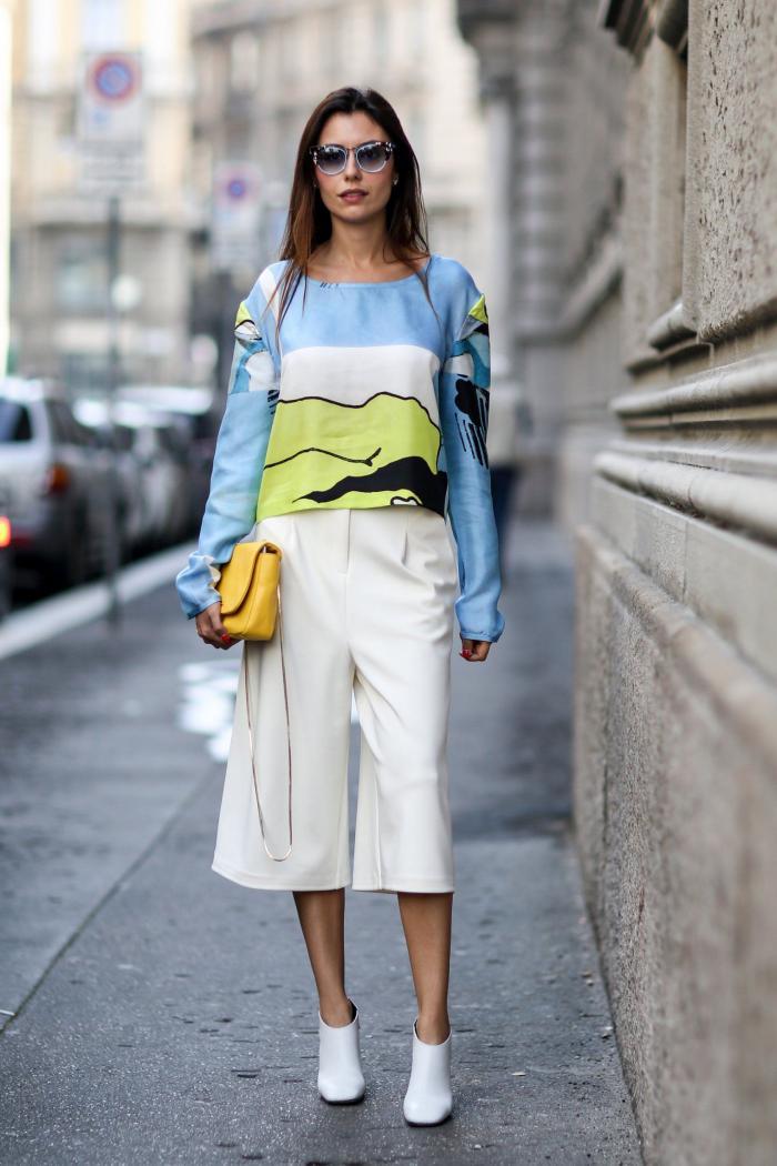 Модные брюки на лето 2018