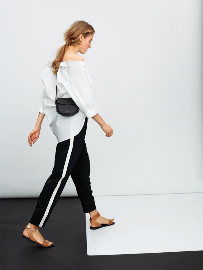 Модные брюки с лампасами: с чем носить в 2018 – 2019 году