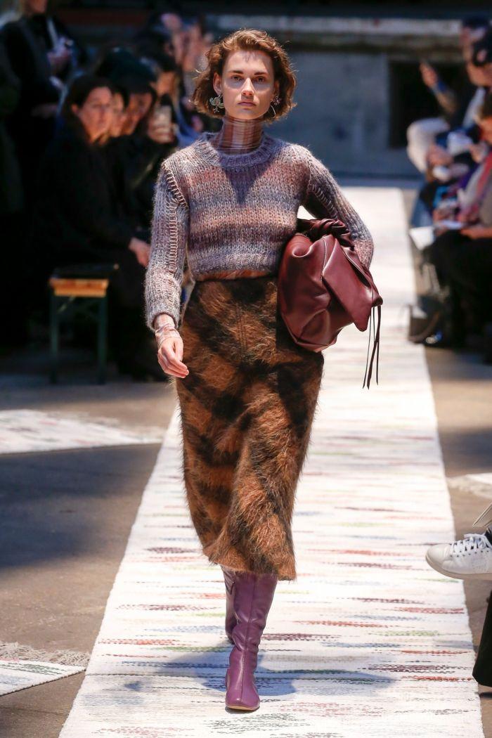 Модная женская обувь осень-зима Acne Studios
