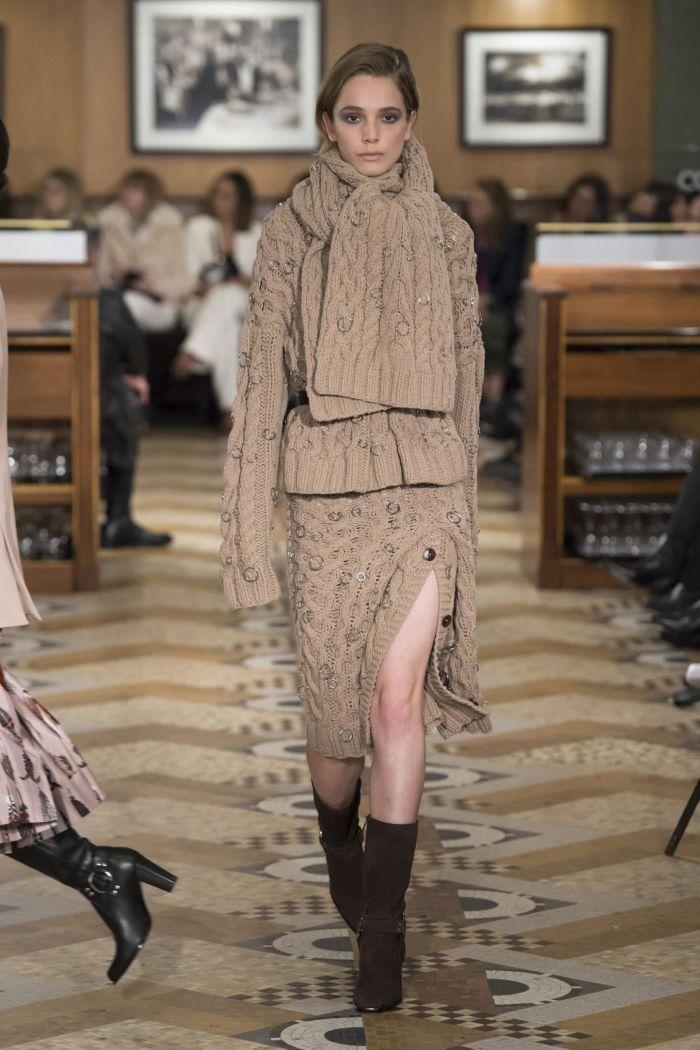 Модная женская юбка осень-зима Altuzarra