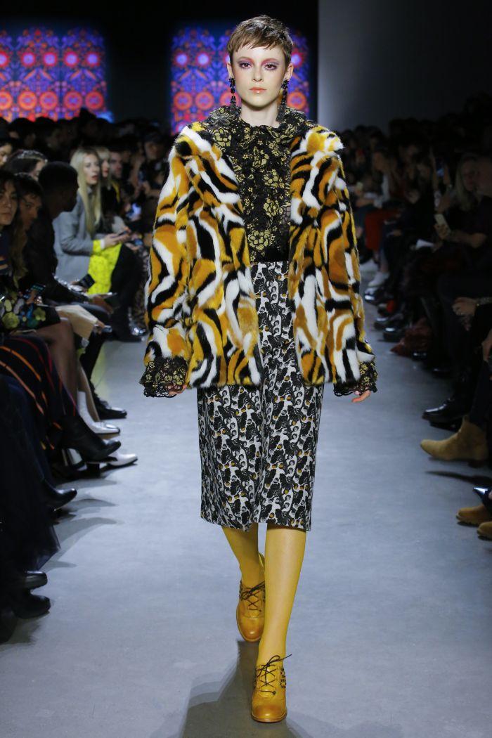 Модная юбка Anna Sui