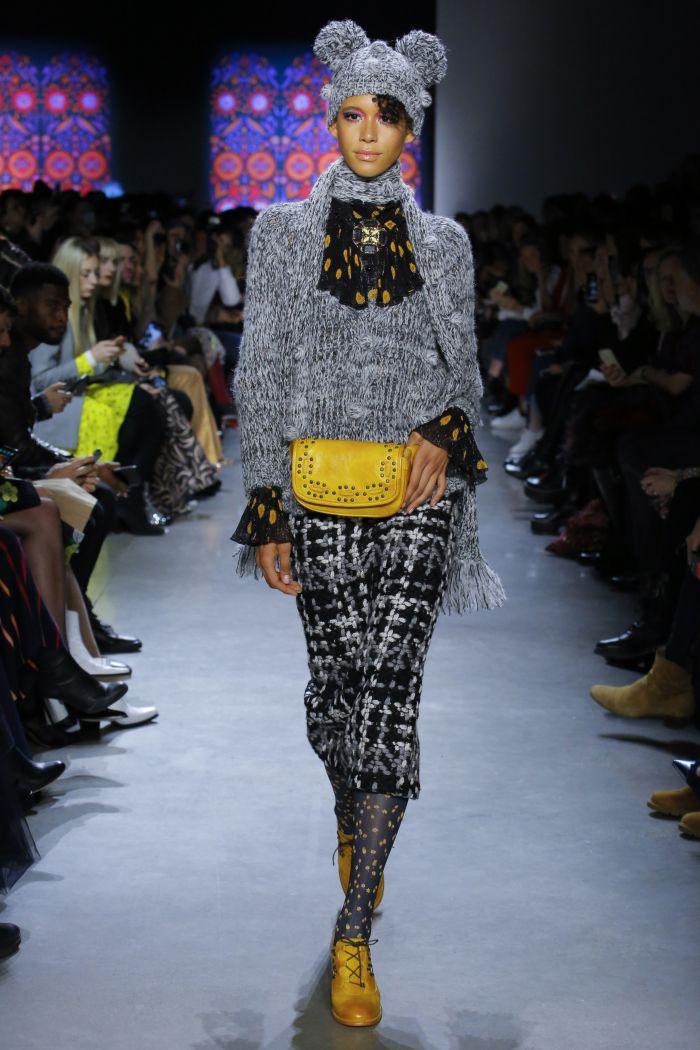 Модная женская юбка осень-зима Anna Sui