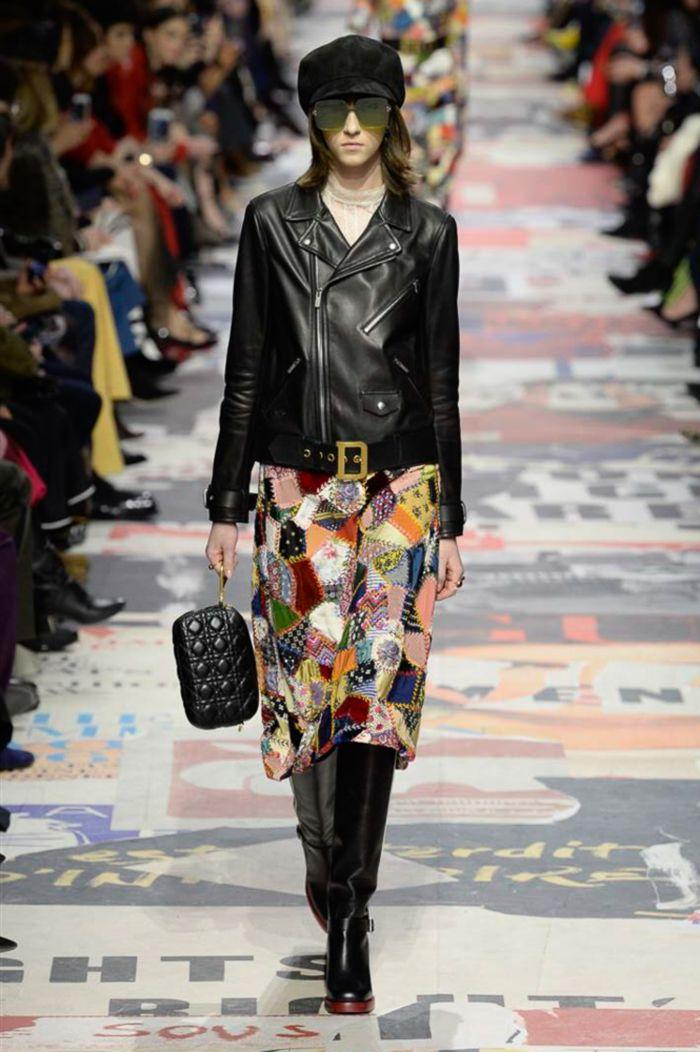 Модная юбка осень-зима Christian Dior