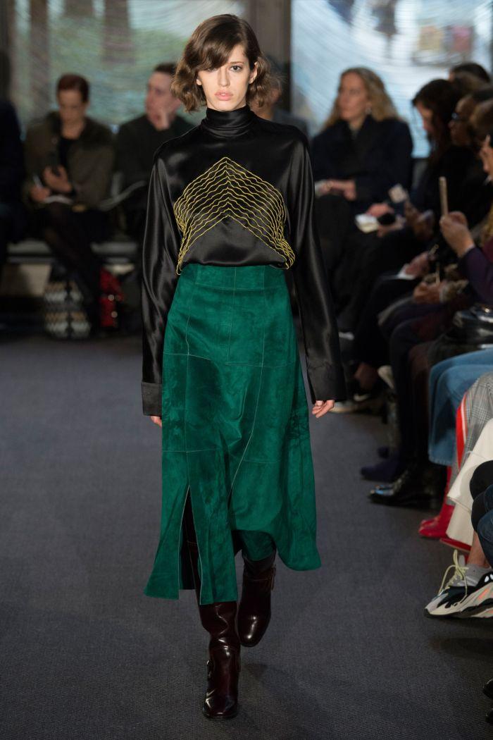 Модные цвета юбок Derek Lam