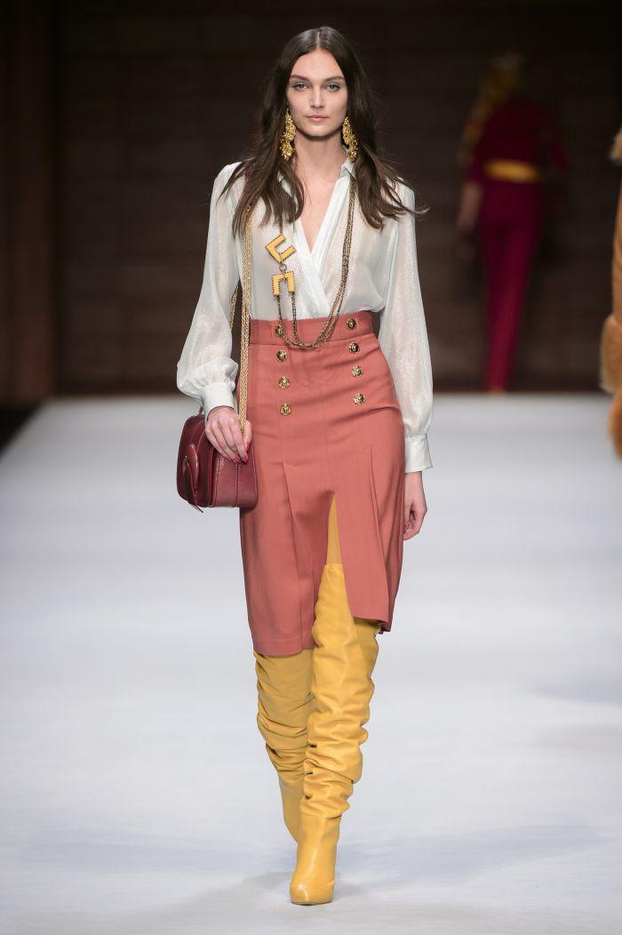 Модная юбка Elisabetta Franchi