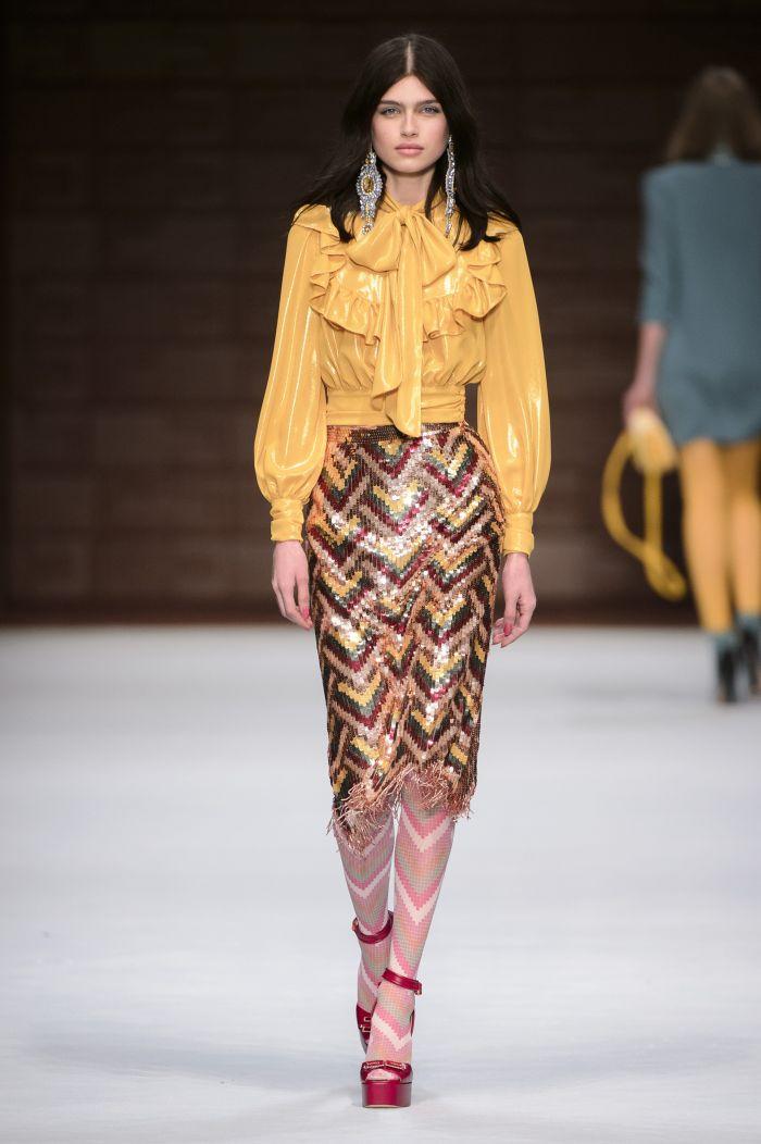 Модная юбка осень-зима Elisabetta Franchi