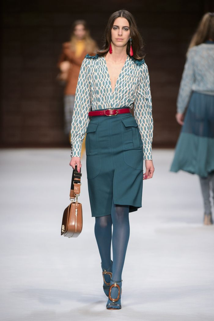 Модные цвета юбок Elisabetta Franchi