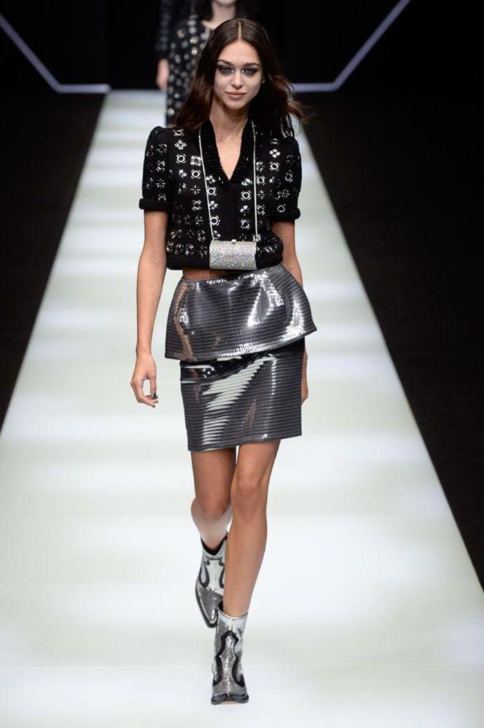 Модная женская обувь осень-зима Emporio Armani