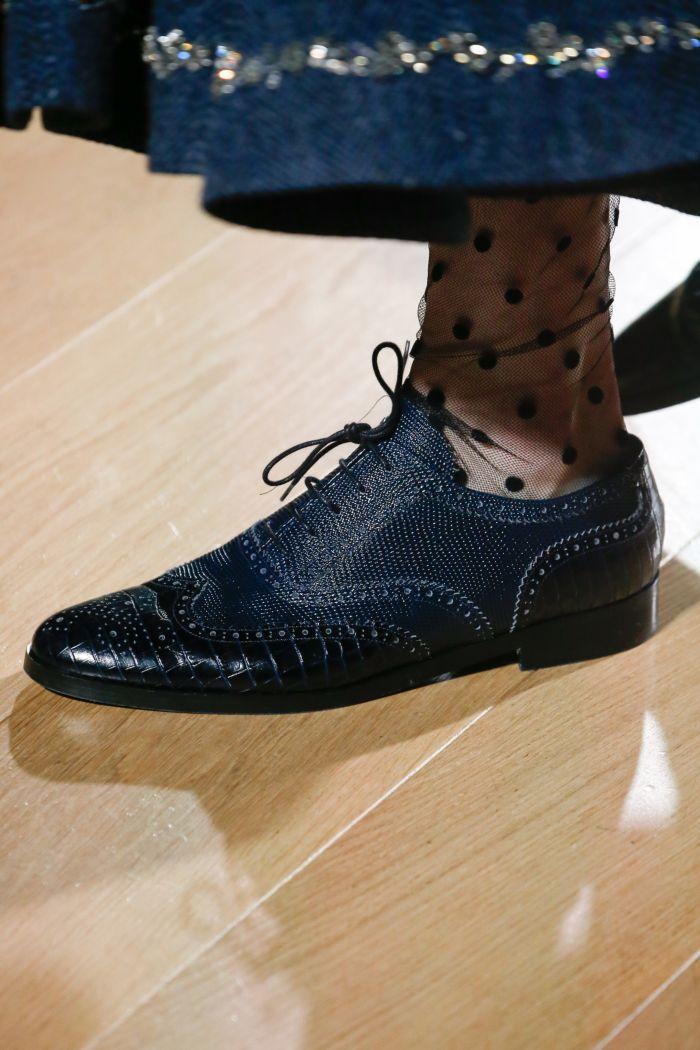 Модные женские туфли осень-зима 2018-2019 Erdem