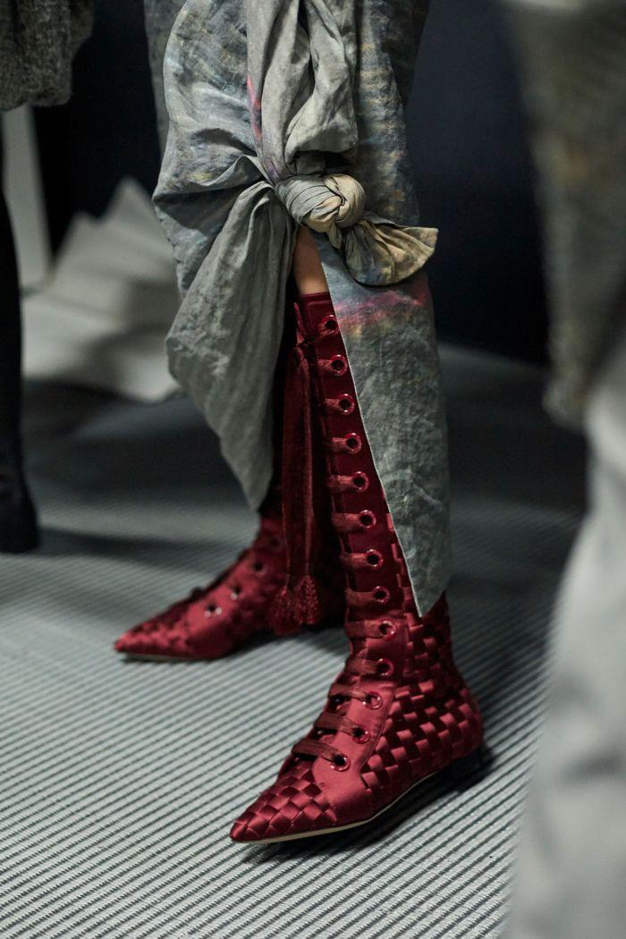 Модная обувь осень-зима 2018-2019 Giorgio Armani