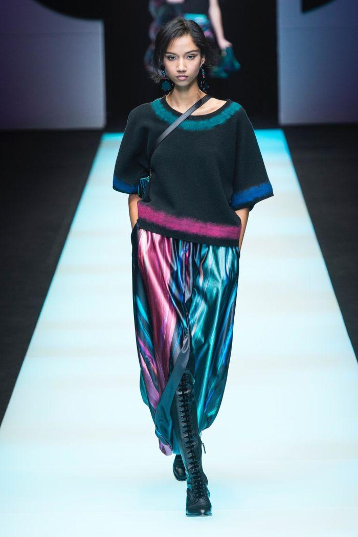 Модная женская обувь осень-зима Giorgio Armani