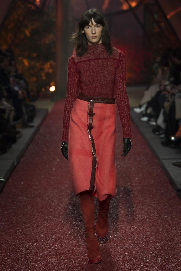 Модная женская обувь осень-зима Hermès