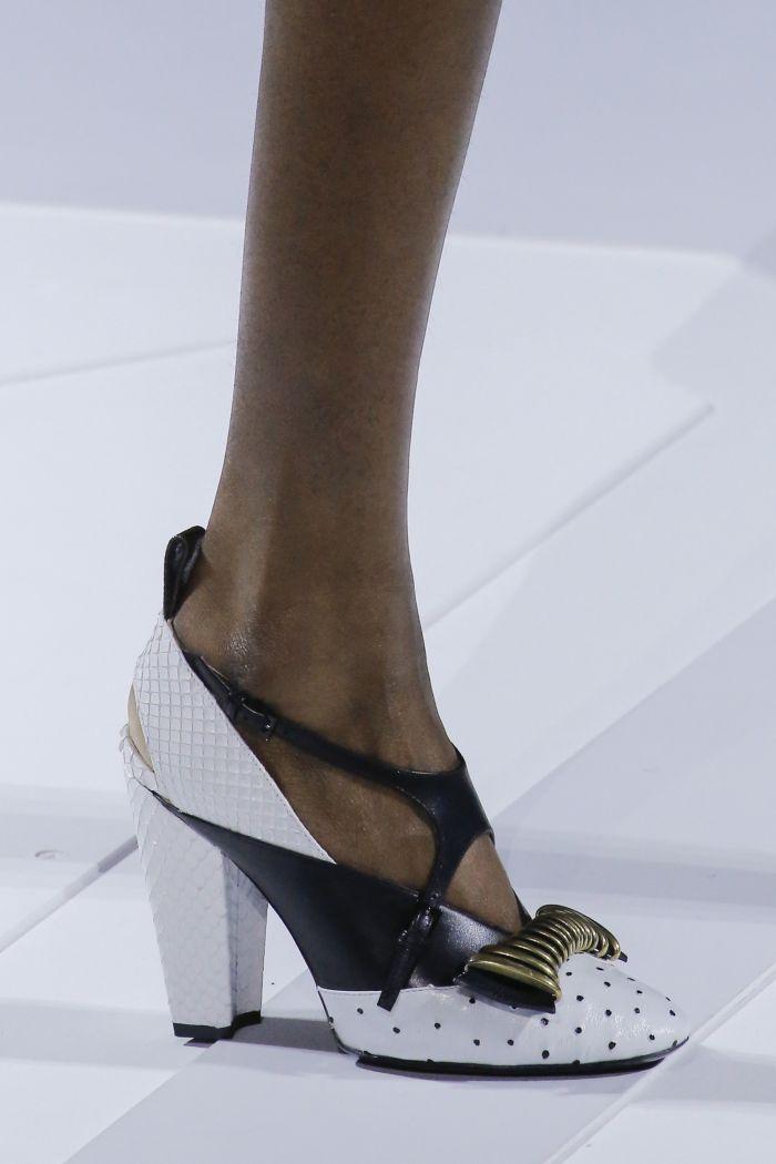 Модные женские туфли осень-зима 2018-2019 Louis Vuitton