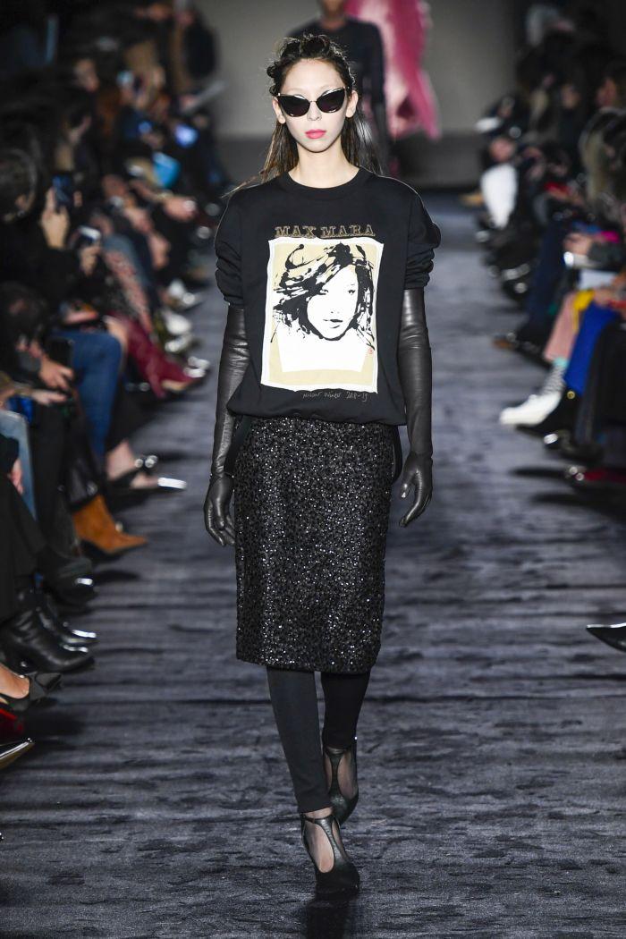 Модная женская юбка осень-зима Max Mara