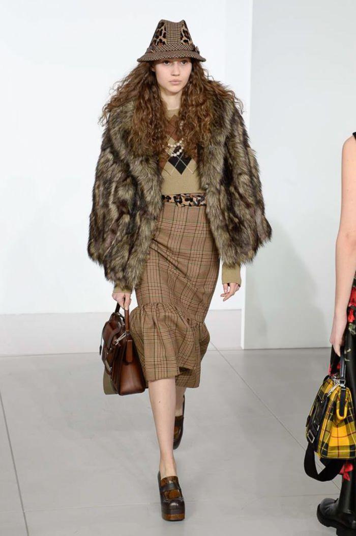 Модная женская юбка осень-зима Michael Kors
