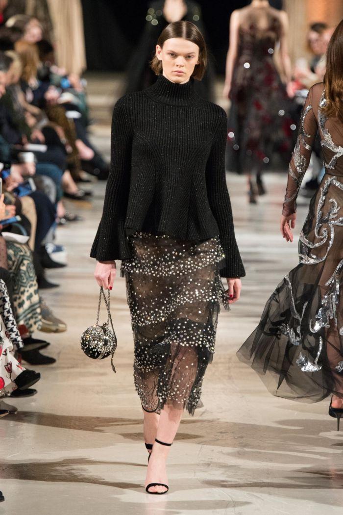 Модная женская обувь осень-зима Oscar de la Renta