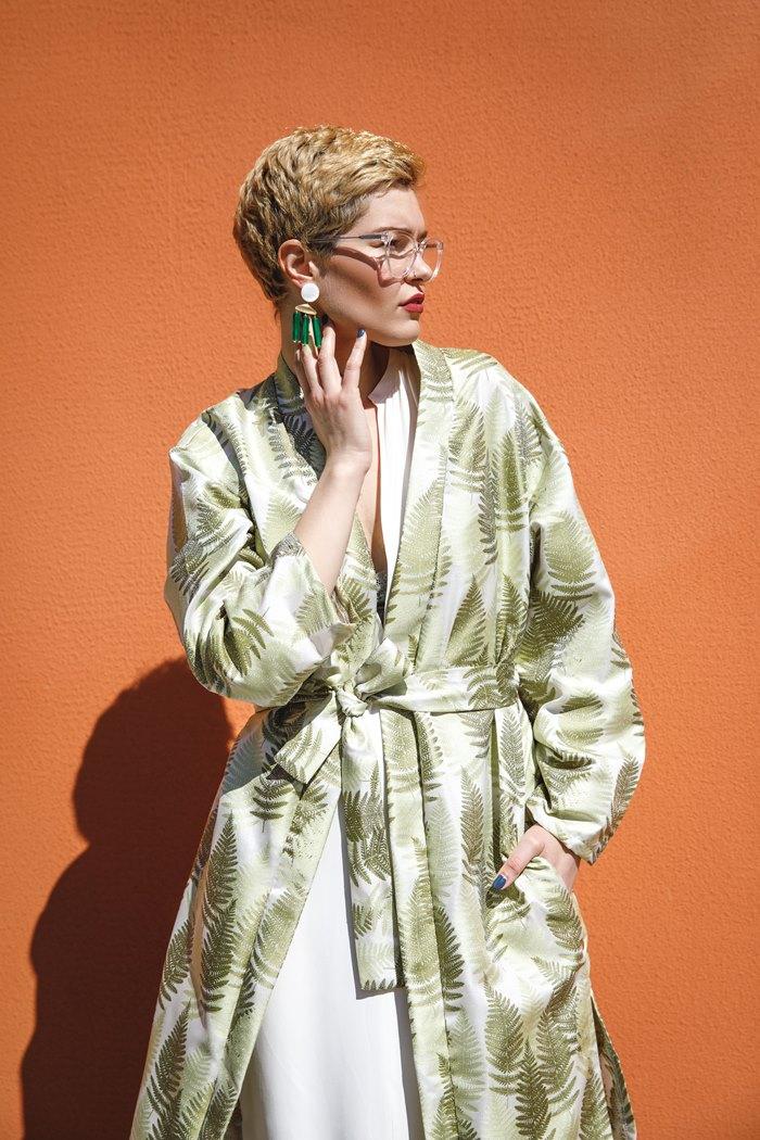 С чем носить Кимоно летом