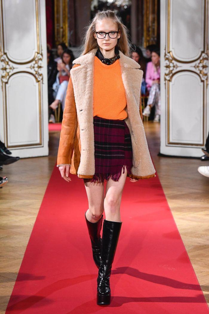 Модная женская юбка осень-зима Paul & Joe