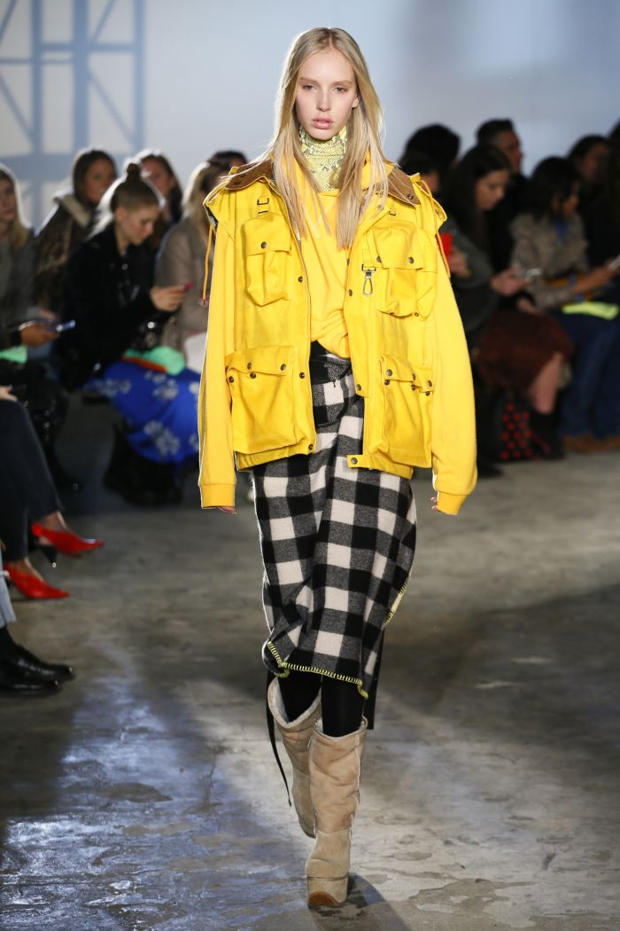 Модная женская юбка осень-зима R13