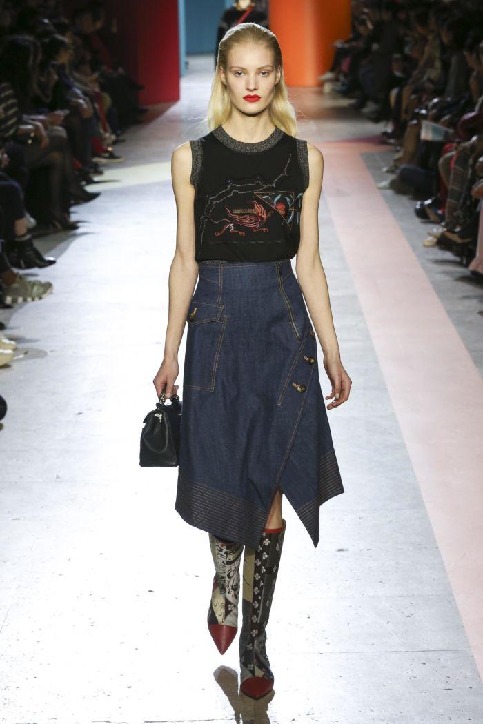 Модная юбка Shiatzy Chen